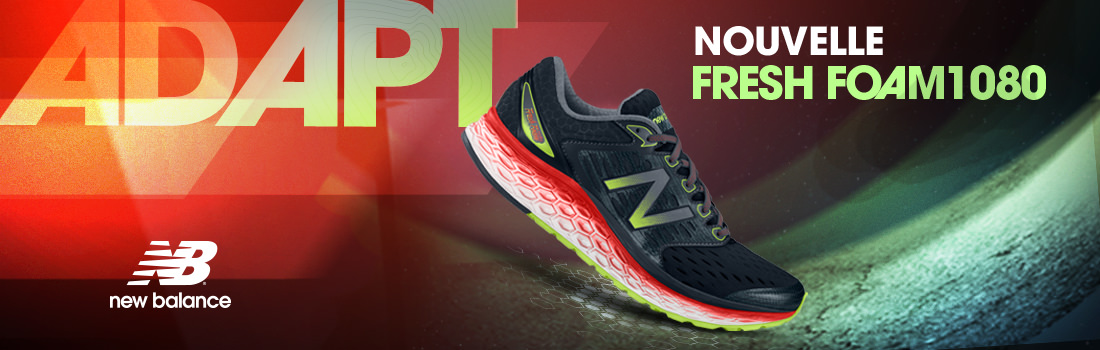 New Balance, la nouvelle Fresh Foam 1080